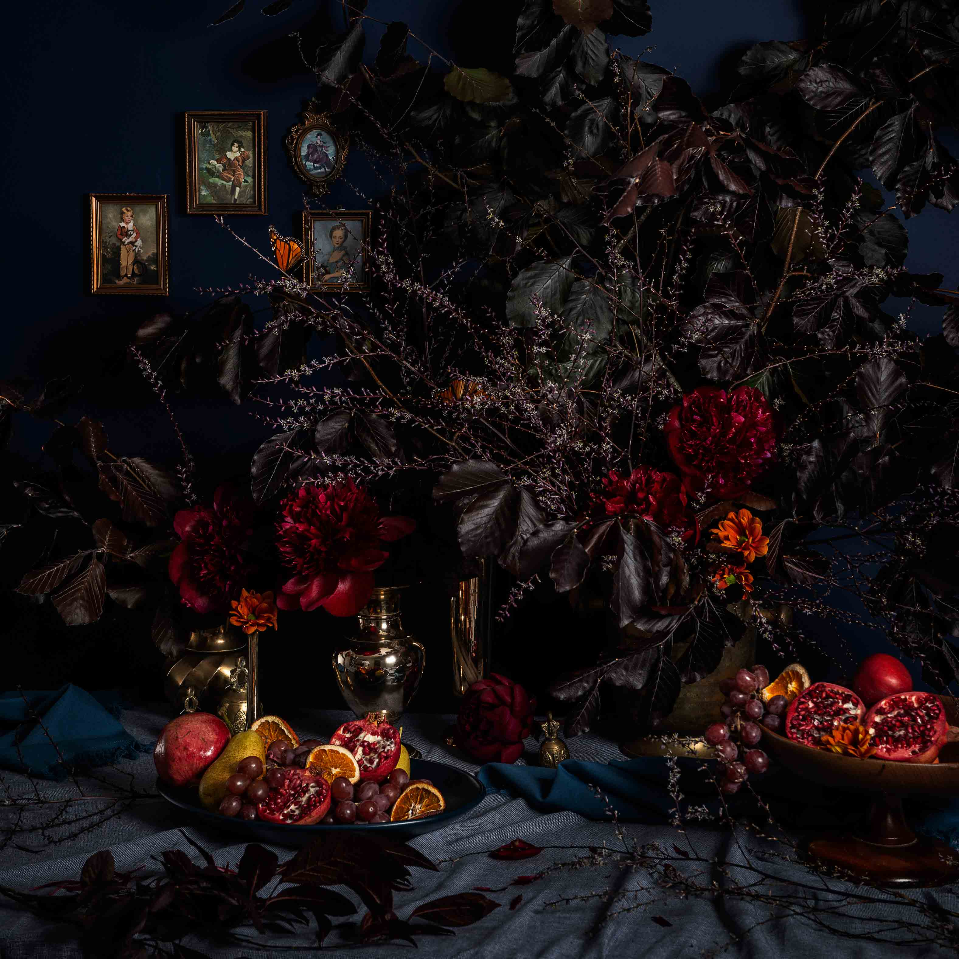 Flower Workshop: Winter Flowers Still Life – Memento Mori