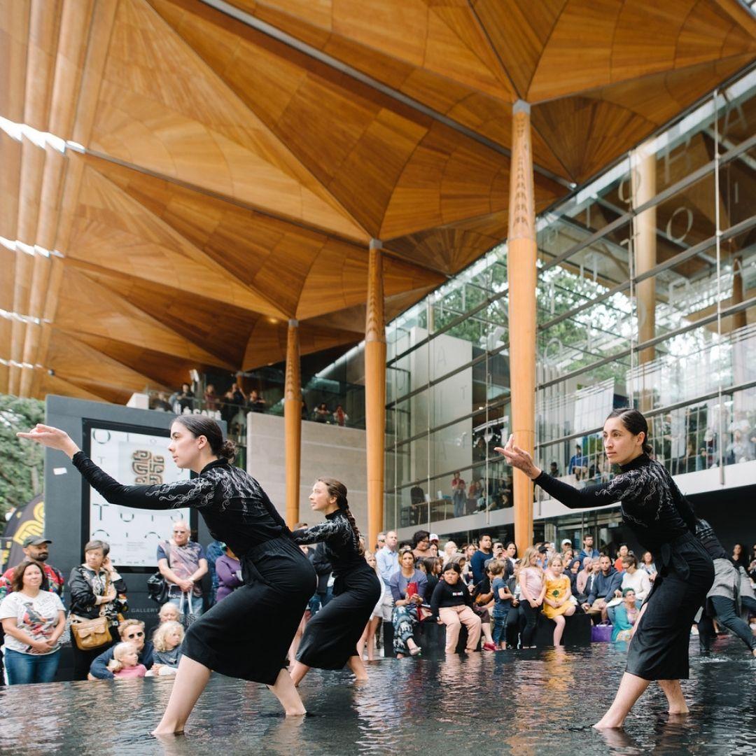 Atamira Dance Company: TŌTORU - Threefold, Triple, Trio