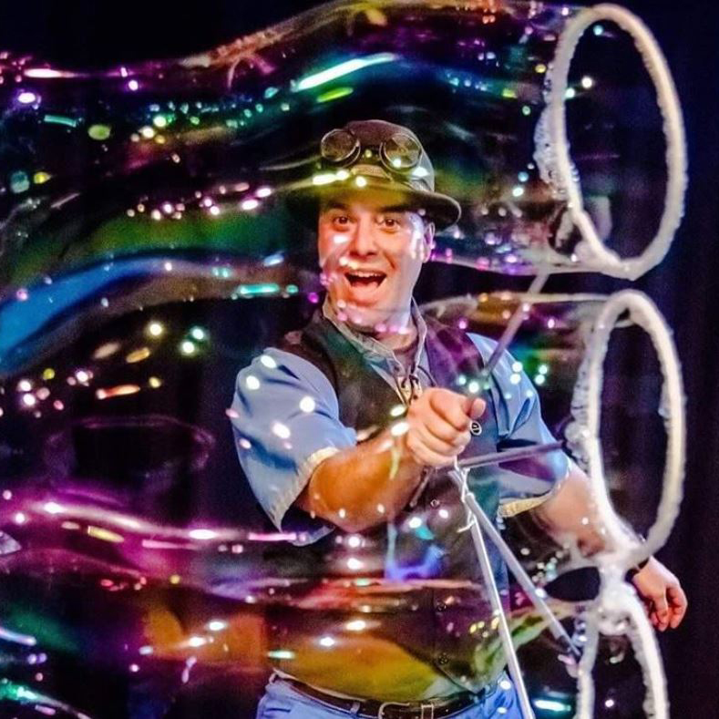The Highland Joker – Soap Bubbles Extraordinaire