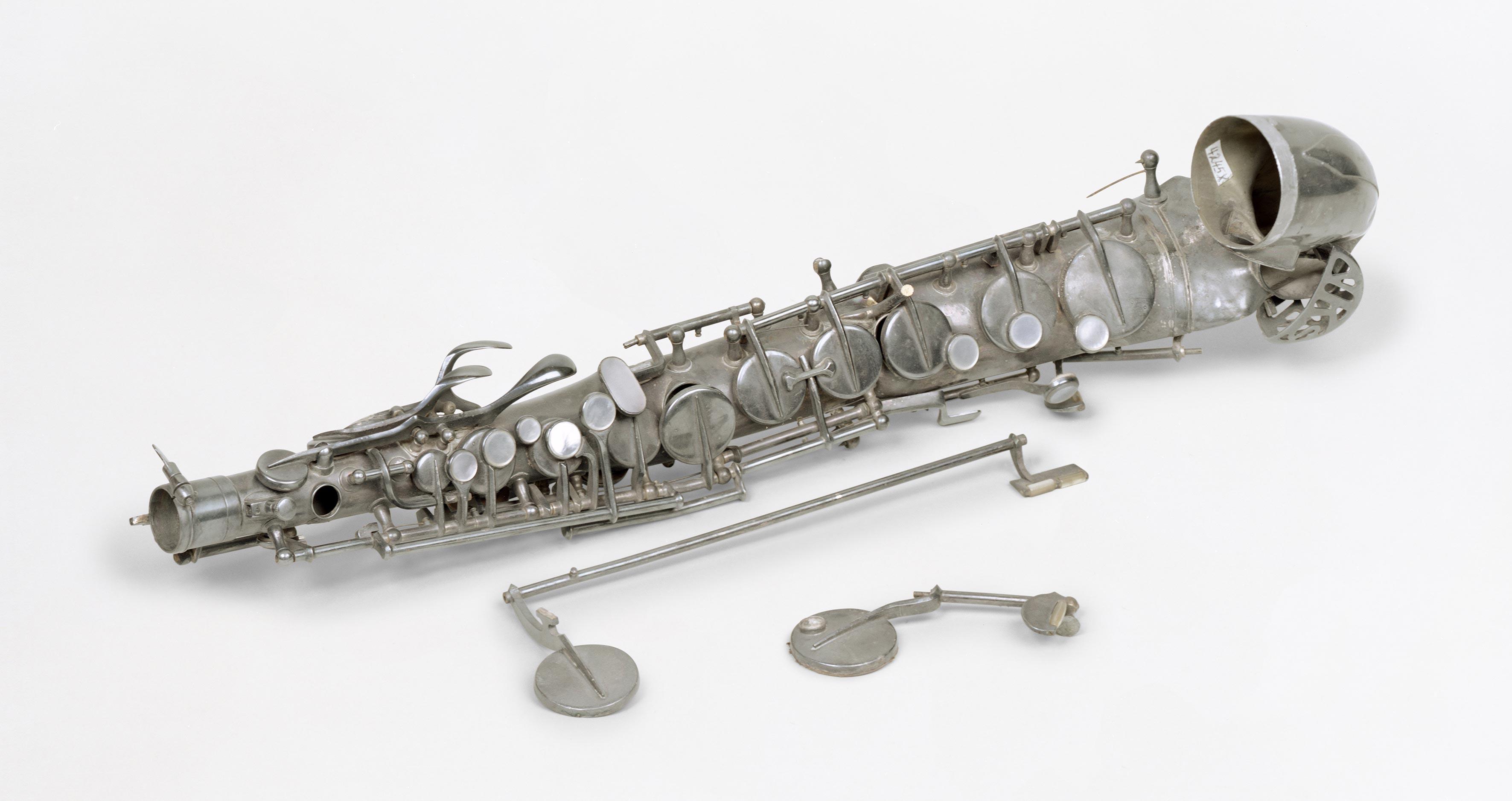 Curators talk: Juliana Engberg on War Damaged Musical Instruments