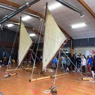 Sailing Land Rig with Te Toki Voyaging Trust