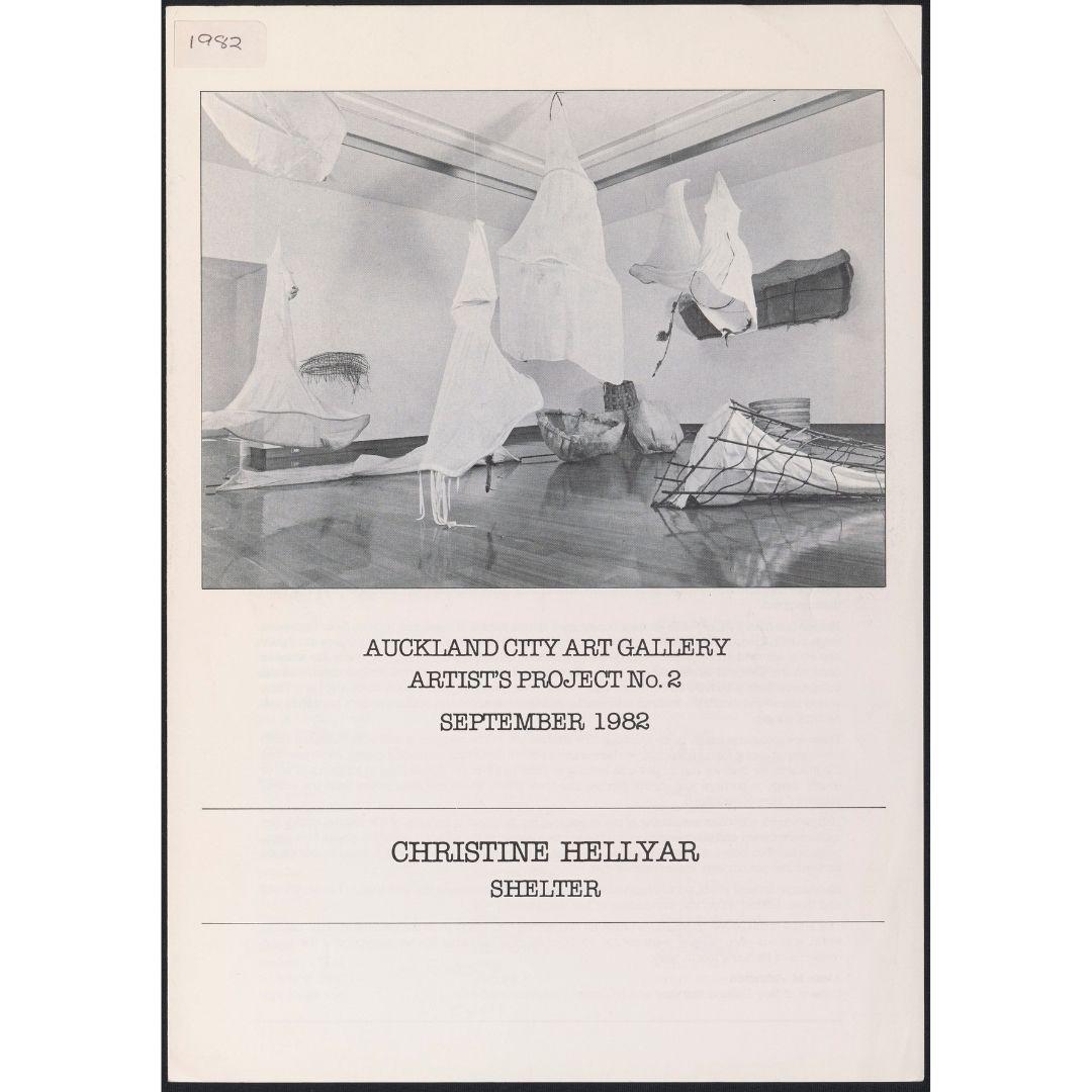 Artist's Project No. 2: Christine Hellyar Shelter Image
