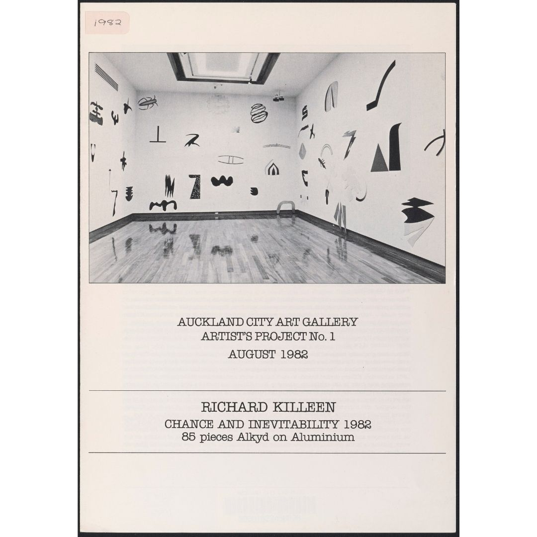 Artist's Project No. 1: Richard Killeen: Chance and Inevitability Image