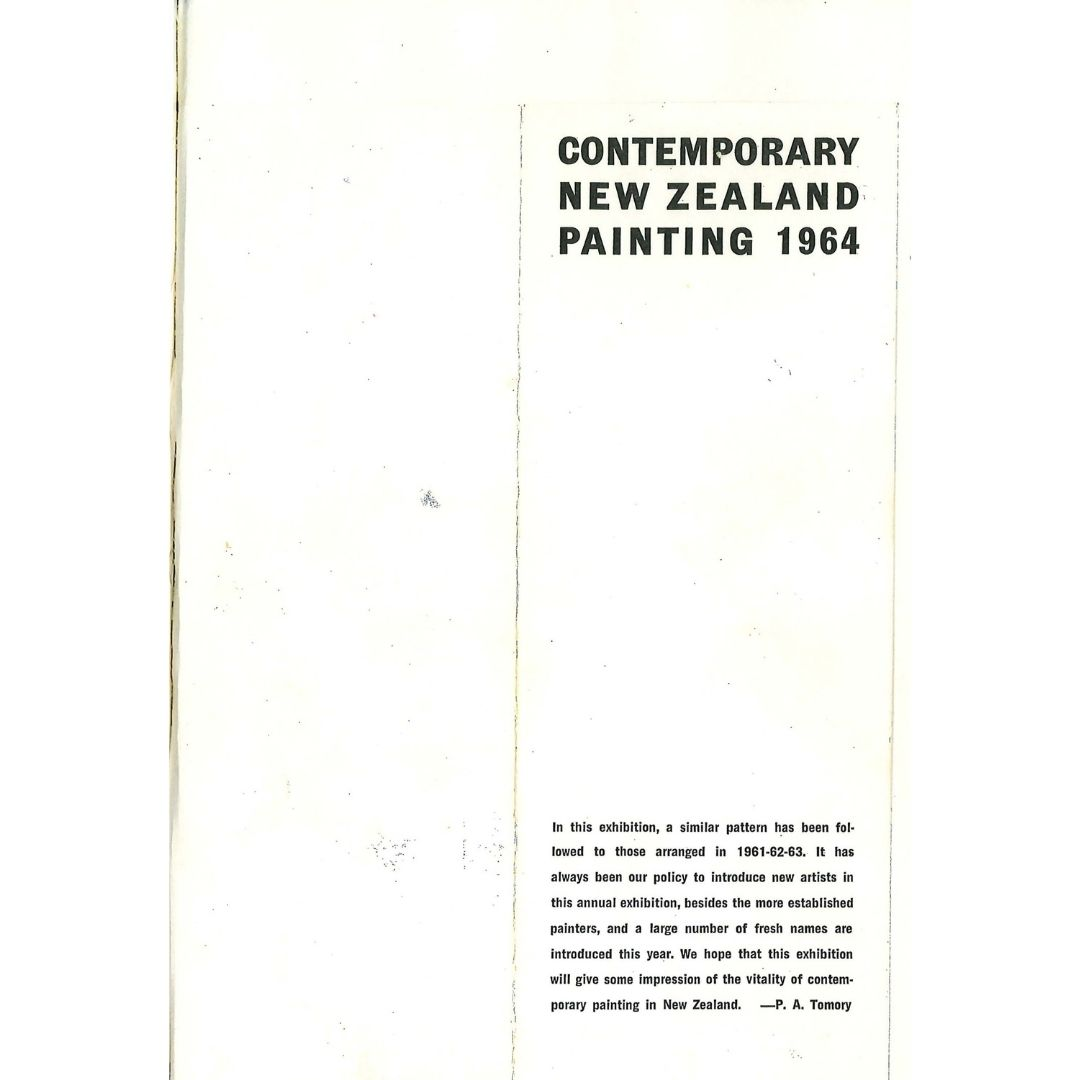 Contemporary New Zealand Painting 1964 Image