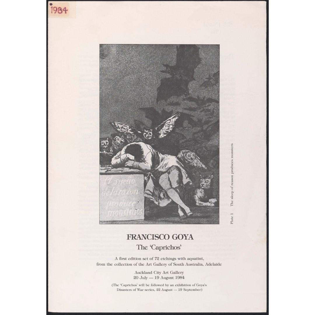 Francisco Goya:  The Caprichos Image