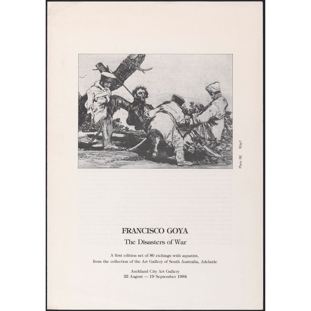 Francisco Goya: The Disasters of War Image