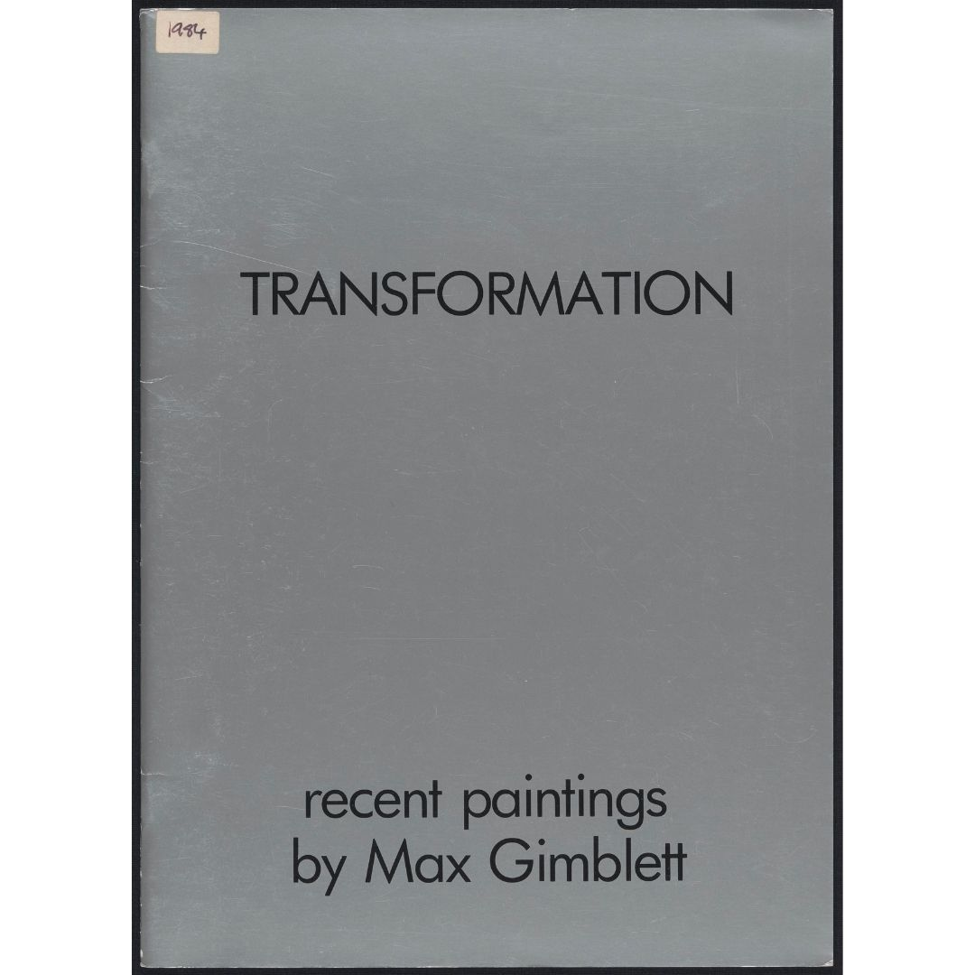 Transformation: recent paintings by Max Gimblett Image