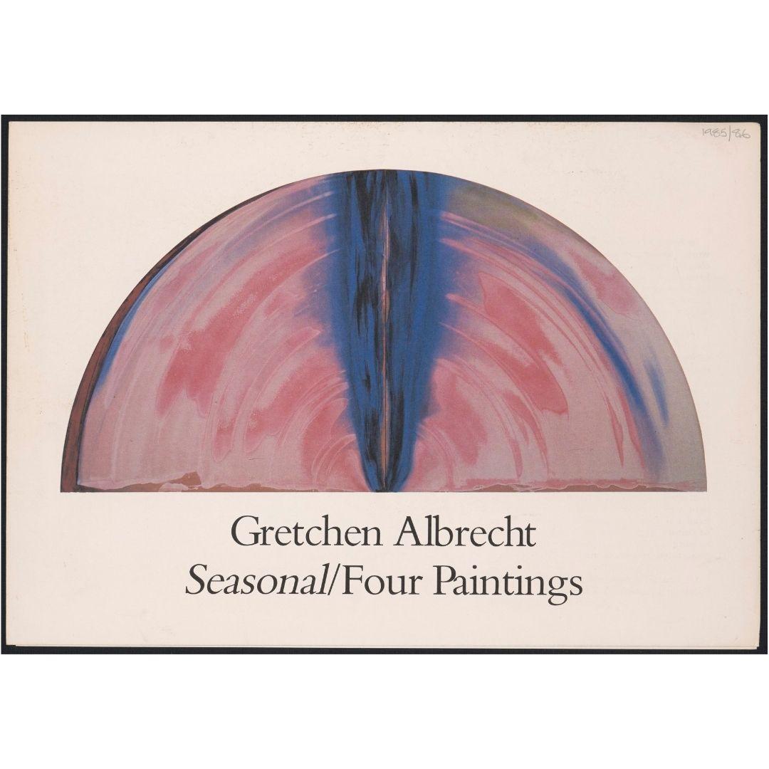 Artist's Project: Gretchen Albrecht: Seasonal/Four Paintings Image