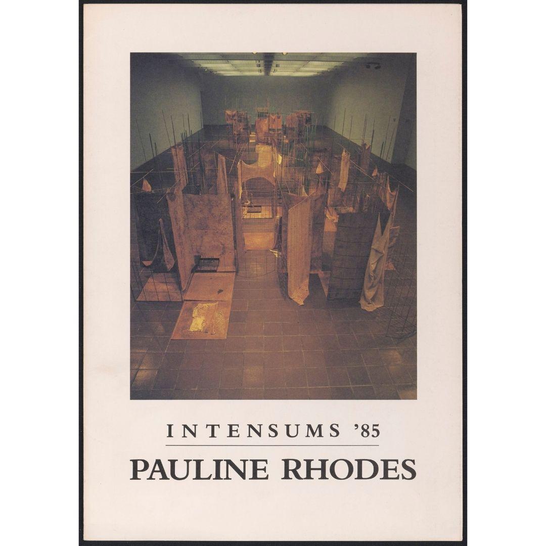 Artist's Project: Intensums '85: Pauline Rhodes Image