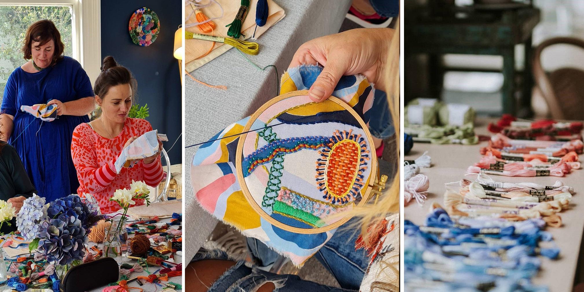 POSTPONED: Embroidery Workshop – Spring Stitch Zen