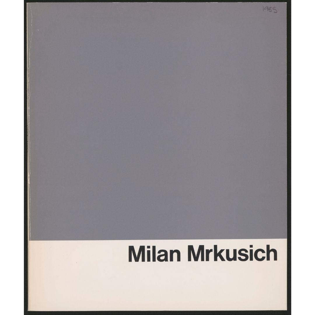 Milan Mrkusich: a decade further on 1974-1983 Image