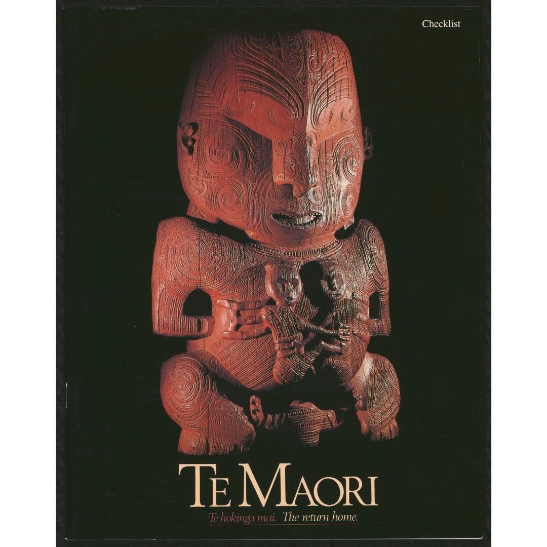 Te Maori: Te hokinga mai. The return home. Checklist Image