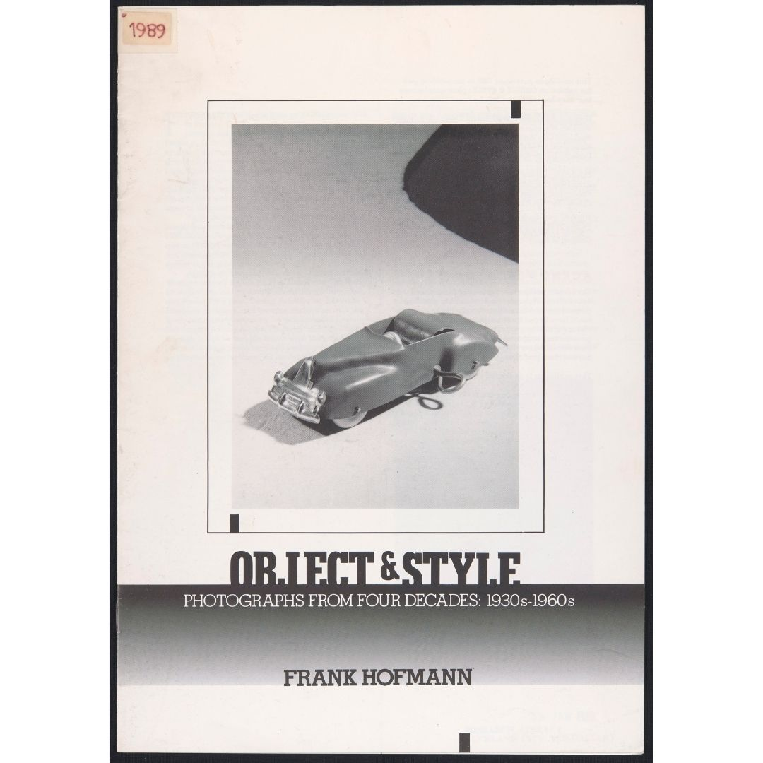 Object and Style: Photographs from Four Decades: 1930s – 1960s by Frank Hofmann Image