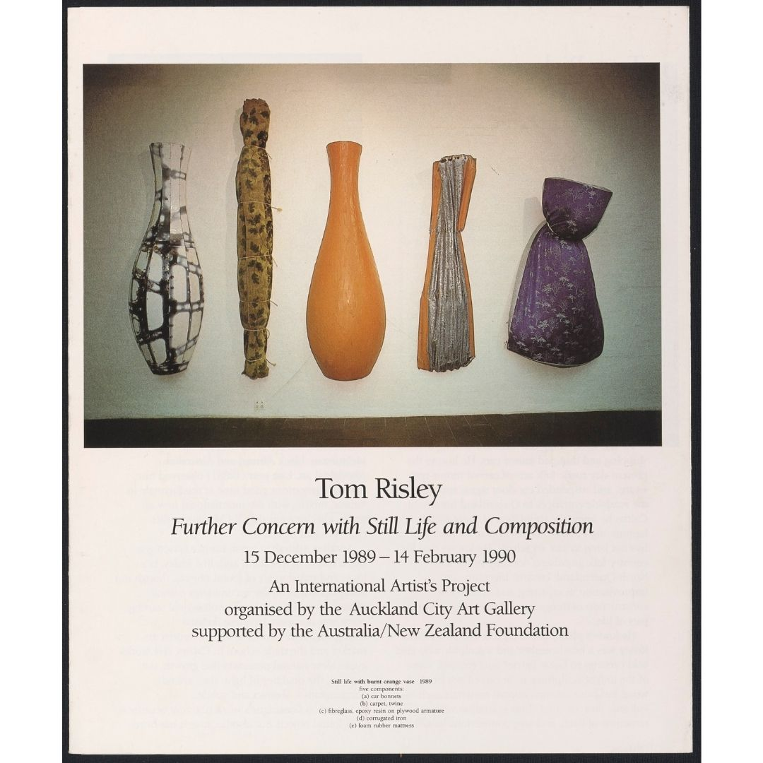 Tom Risley: Further Concern with Still-life and Composition Image