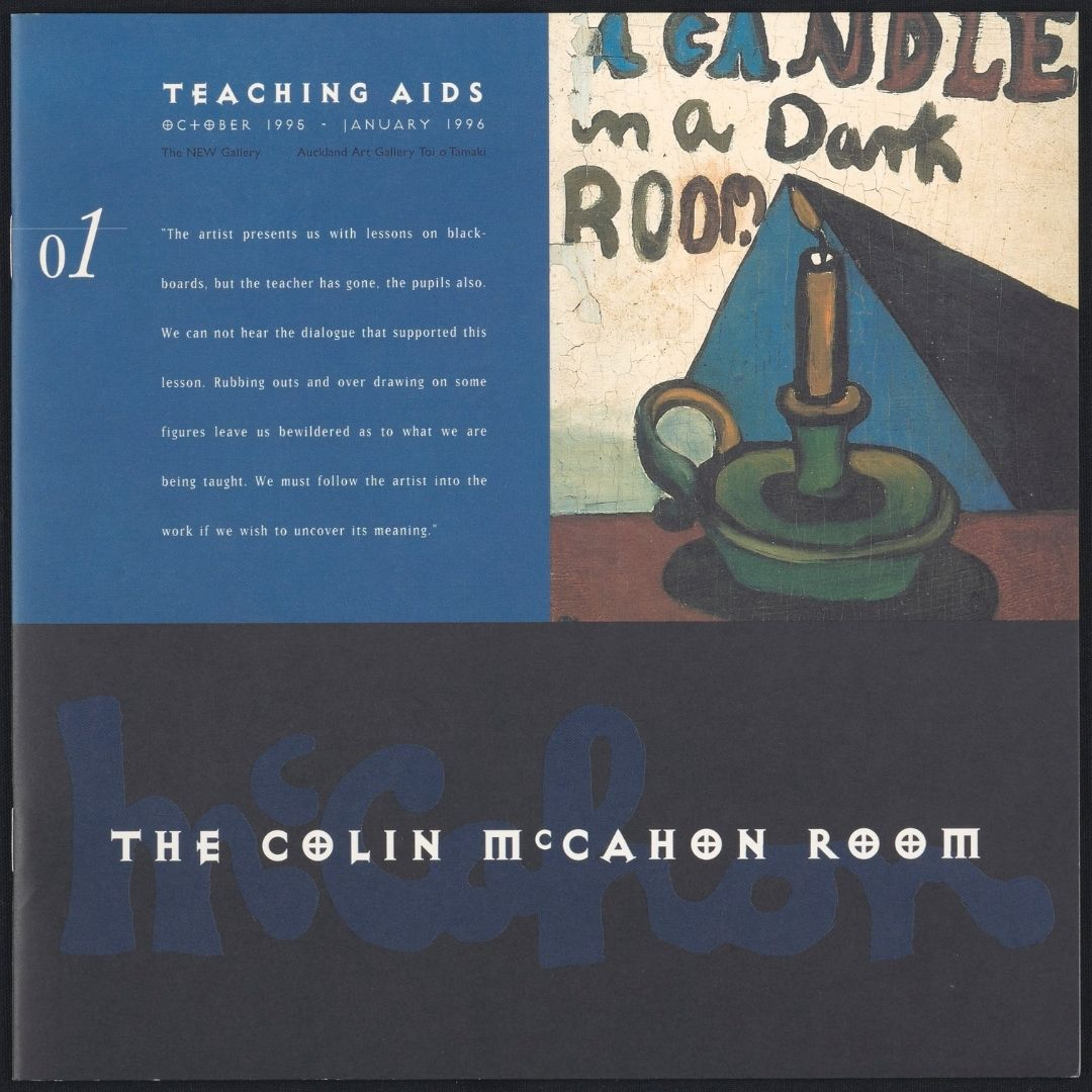 Teaching Aids: The Colin McCahon Room Image