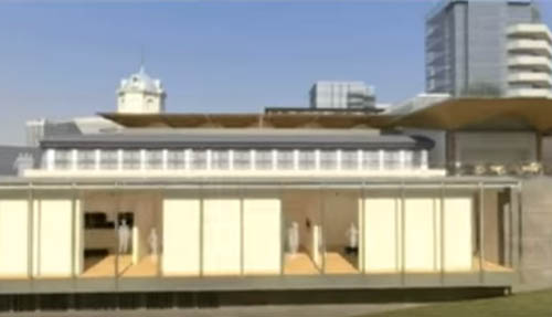 An animated tour of the Auckland Art Gallery's new building, due to reopen in 2011 Image