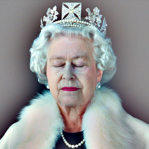 Chris Levine's Portrait of Her Majesty Queen Elizabeth II Image