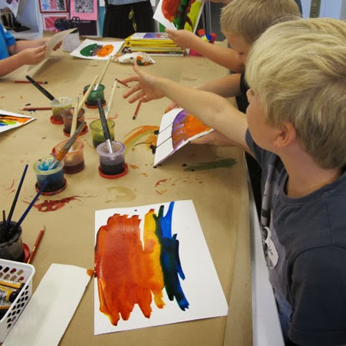 Encouraging Creativity through Art Making Image