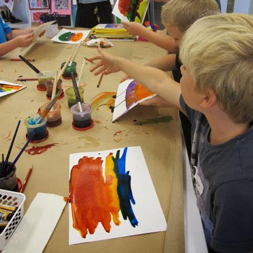Encouraging Creativity through Art Making Image