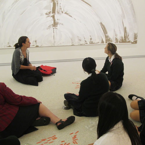 Schools Programmes - Engaging Teenagers with Art in a Gallery Context Image