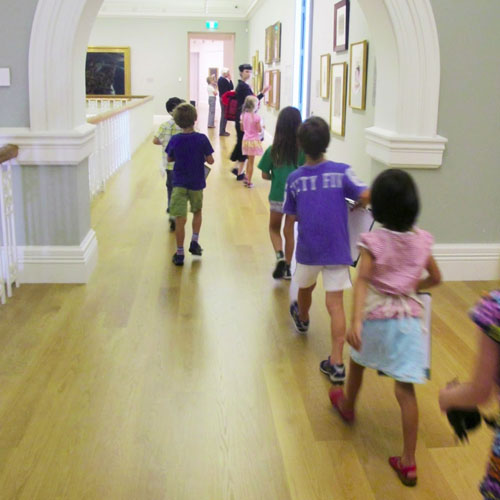 Gallery Explorers – no adults allowed! Image