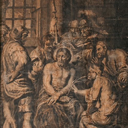 The Mocking of Christ, a conservation project Image