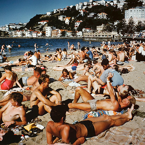 Visual forensics of Oriental Bay Image