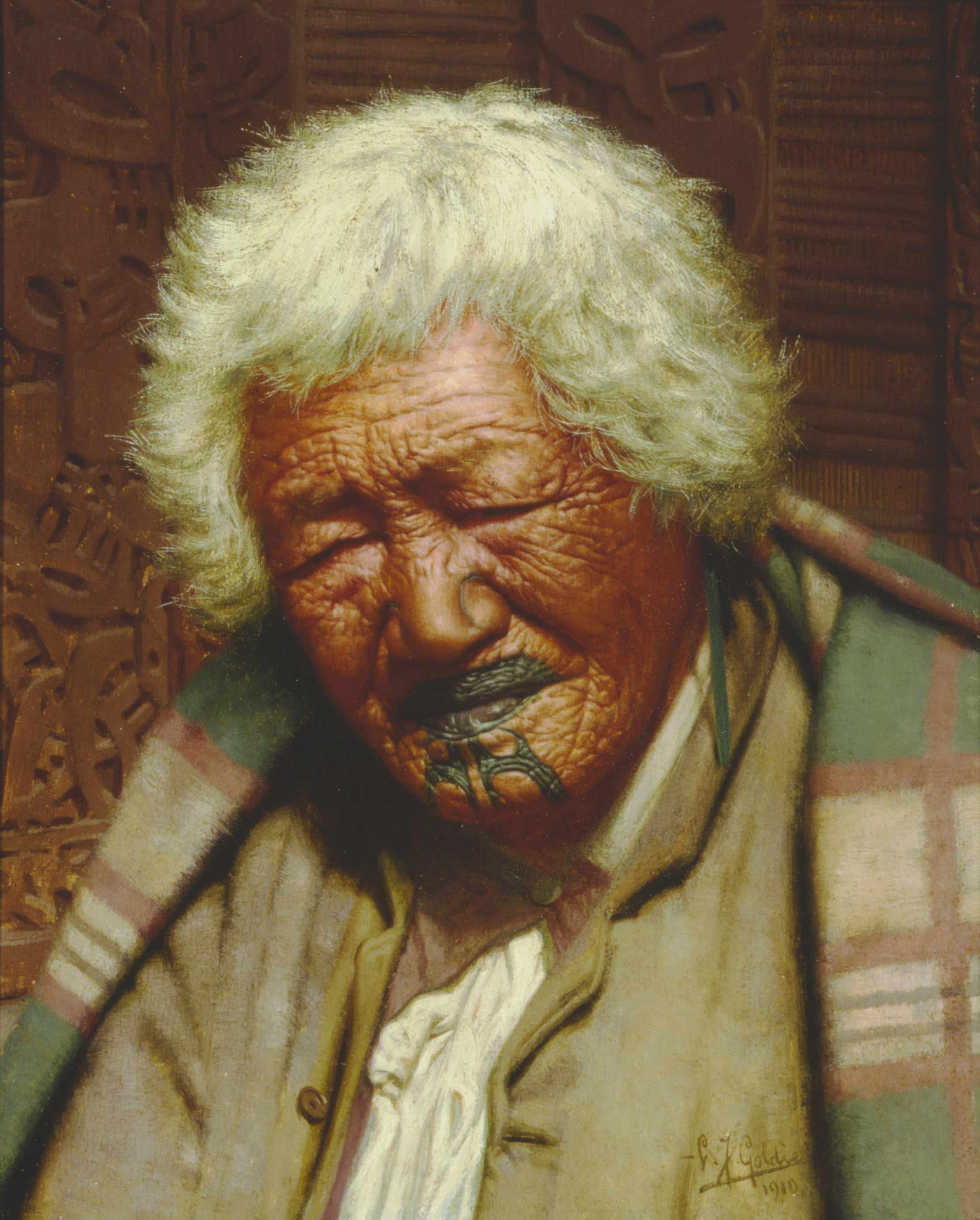 He Iwi Rangatira — Maori Portraits