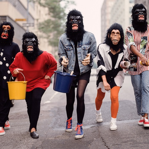 Guerrilla Girls: Reinventing the 'F' word – Feminism! opens on International Women's Day Image