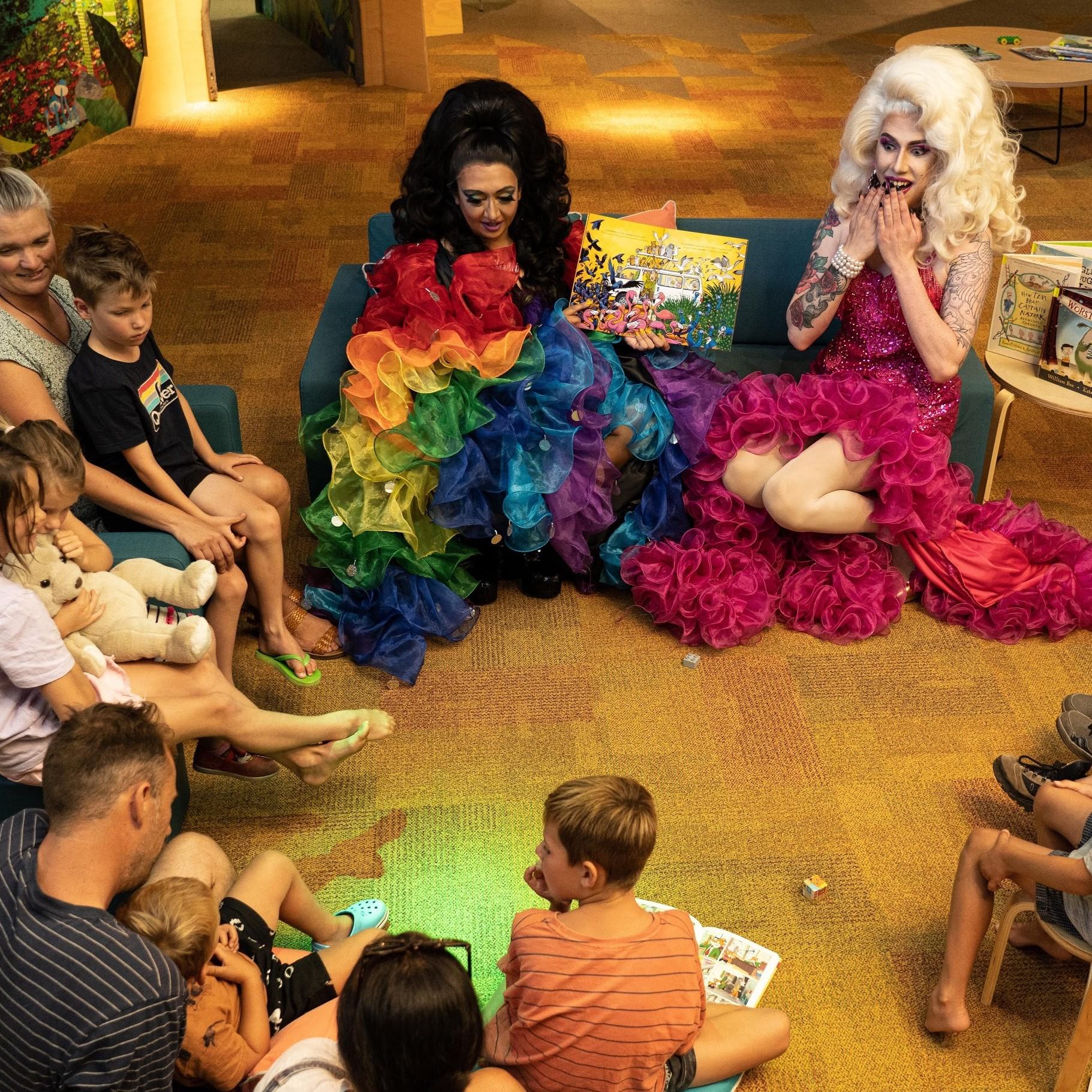 Rainbow Storytime with Erika and CoCo Flash
