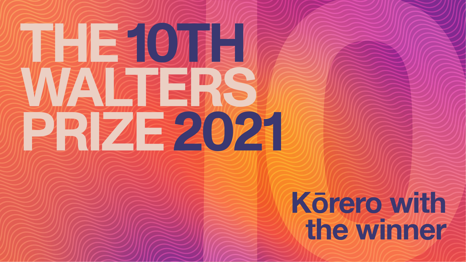 The Walters Prize | Kōrero with the winner