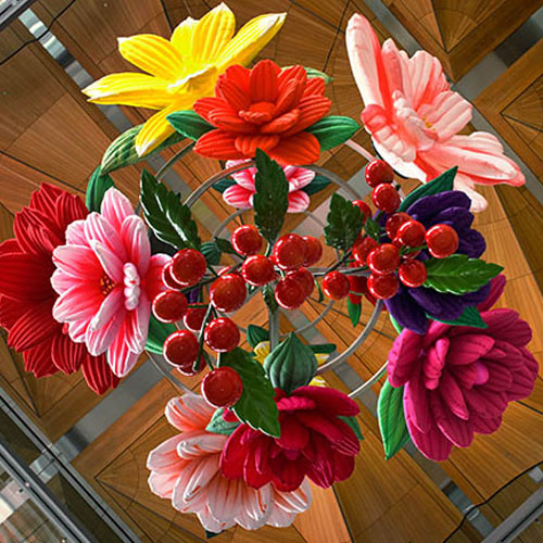 Last weeks for Flower Chandelier at Auckland Art Gallery Image