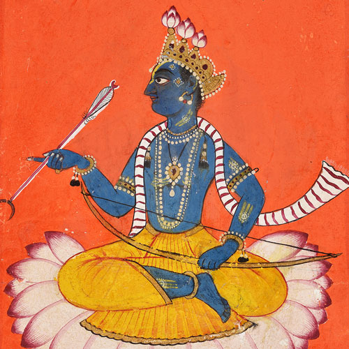 Historic Indian miniatures from New Delhi tell an epic tale at Auckland Art Gallery Toi o Tāmaki Image