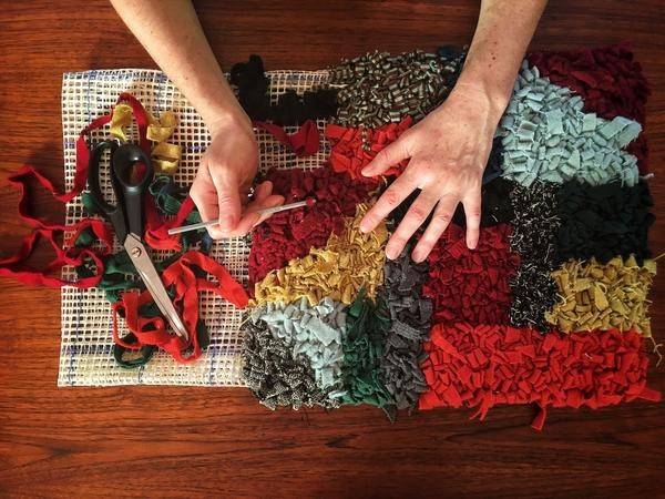 SOLD OUT: Rag rugging workshop with Vita Cochran – May