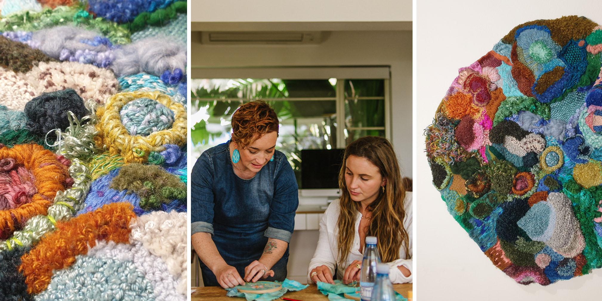 Rockpool Embroidery Workshop - October