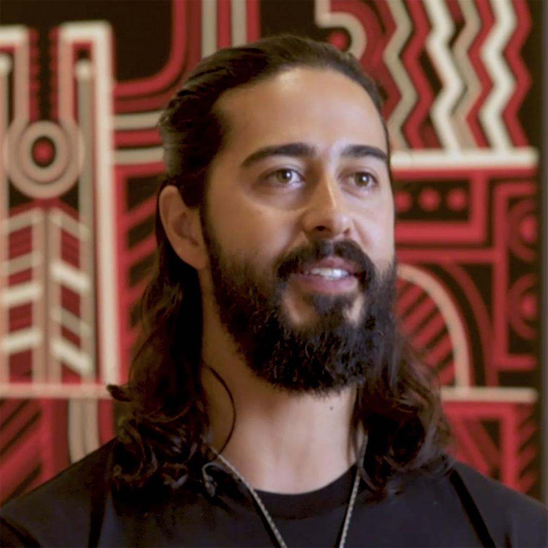 Te Kuru Dewes on Toi Tū Toi Ora: Contemporary Māori Art Image