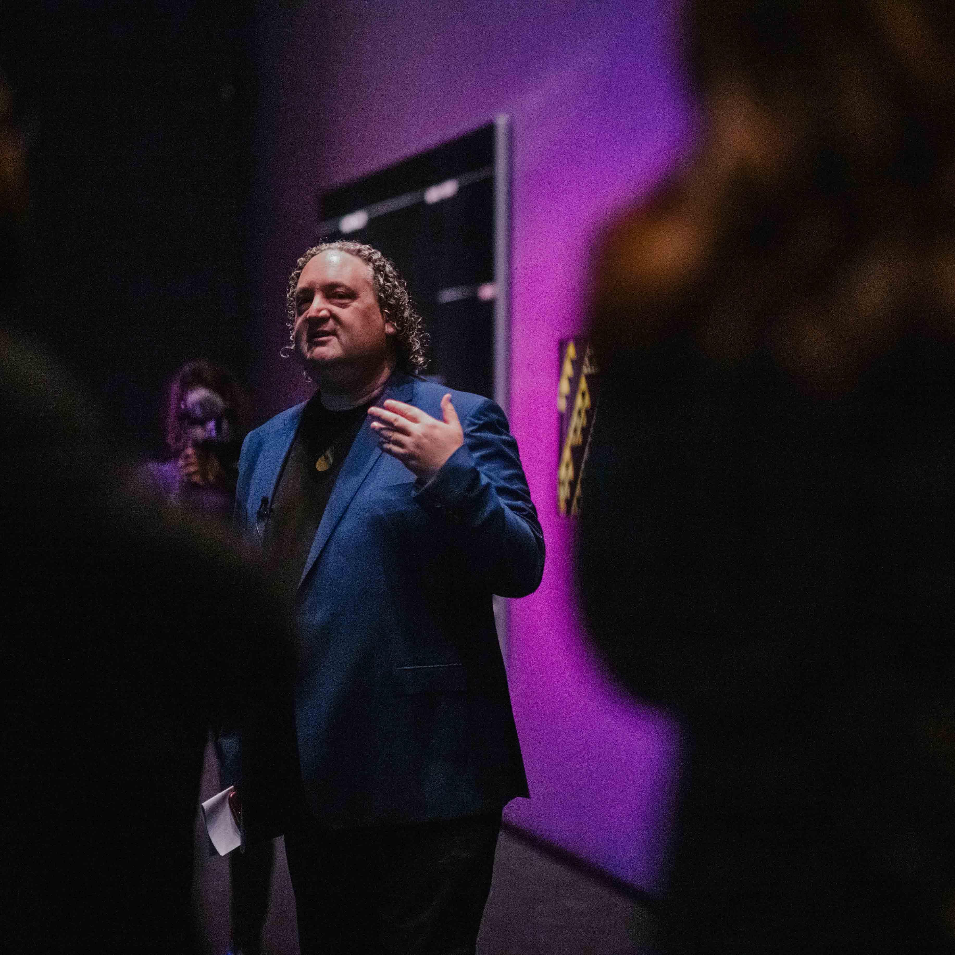 Curator tour of Toi Tū Toi Ora: Contemporary Māori Art