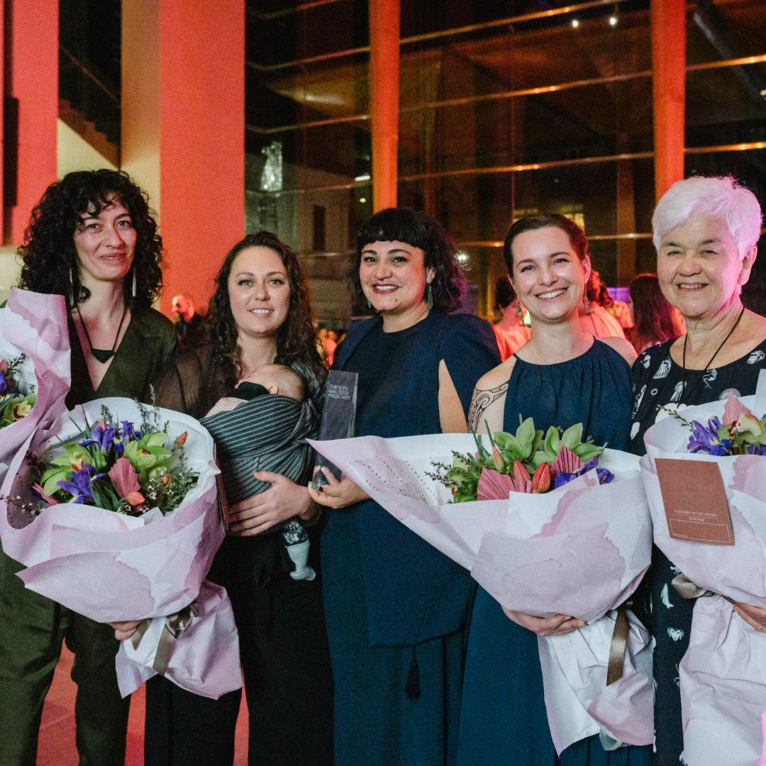 Mata Aho Collective and Maureen Lander win Walters Prize 2021 Image