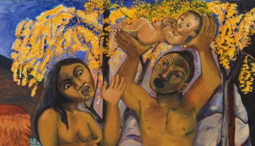 Five Māori Painters: Robyn Kahukiwa Image