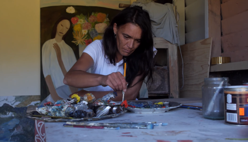 Five Māori Painters: Star Gossage Image