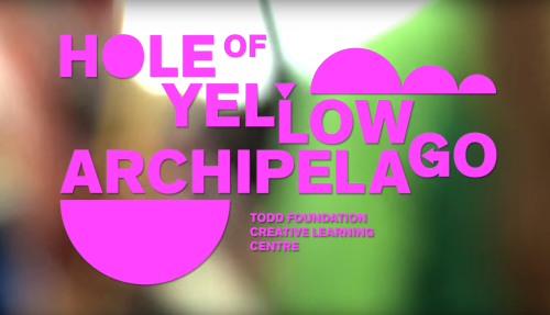 The making of Hole of Yellow Archipelago Image
