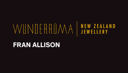 Wunderrūma: Interview with jeweller Fran Allison Image