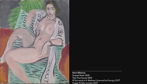 The Body Laid Bare: What inspired Matisse? Image