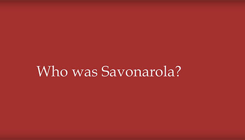 The Corsini Collection: Who was Savonarola? Image
