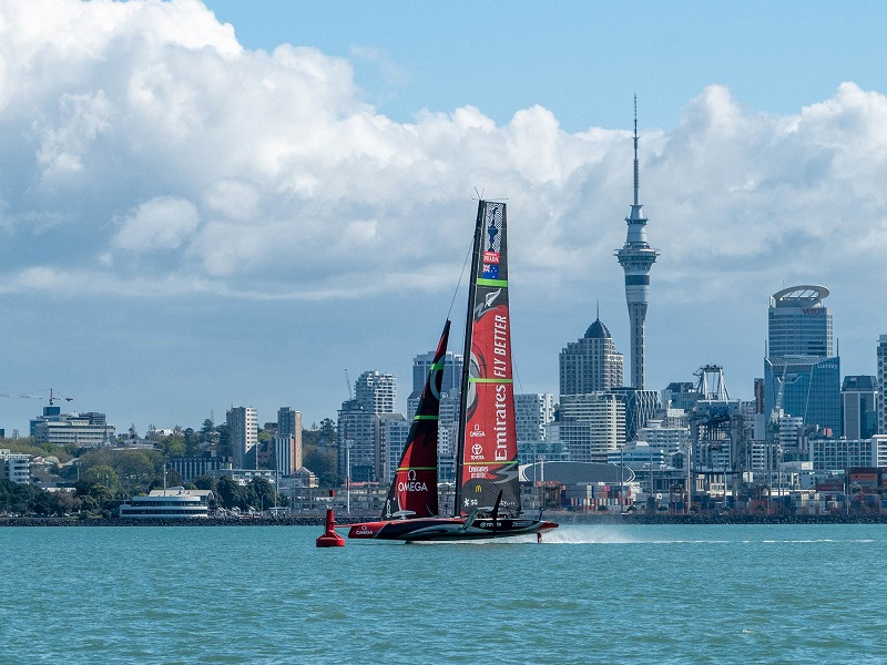 Helping deliver the 36th America's Cup presented by Prada