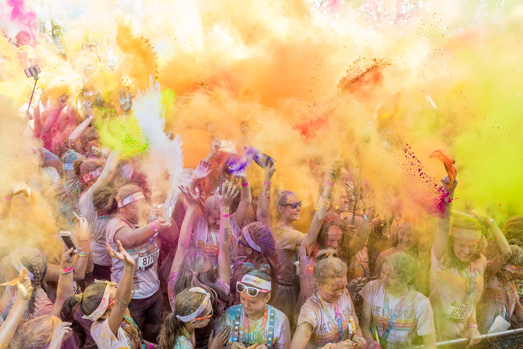 <p>The Colour Run at QBE Stadium</p>