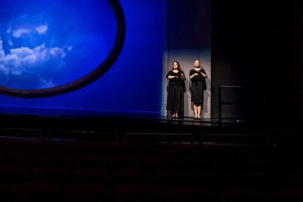 <p>Sign Language Interpreted at Sound of Music (2014)</p>