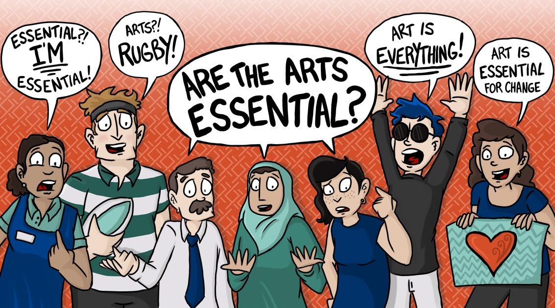 Are the Arts Essential?