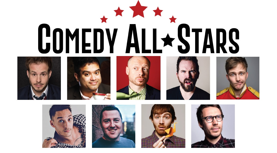 Comedy All-Stars at the Bruce Mason Comedy Club