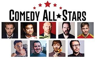 Comedy All-Stars at the Bruce Mason Comedy Club